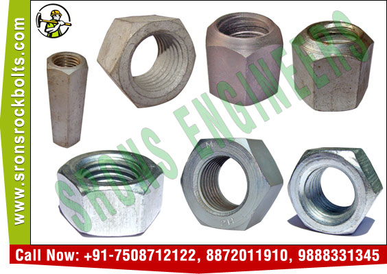 hex nuts hexagonal nuts hex head nuts manufacturers exporters in India Punjab Ludhiana