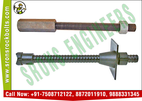 rock bolts self drilling rock anchor bolt  manufacturers exporters in India Punjab Ludhiana