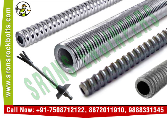 self drilling anchor bolts rock bolts manufacturers exporters in India Punjab Ludhiana