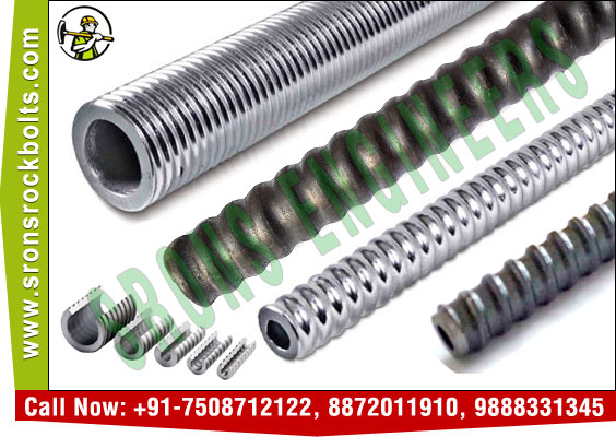 Tie Rods Coil Rods Hollow Rods Bars SDA Rods Bars manufacturers exporters in India Punjab Ludhiana