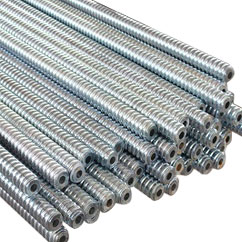 tie rods coil rods threaded coil rods thread tie rod manufacturers exporters suppliers in india punjab ludhiana